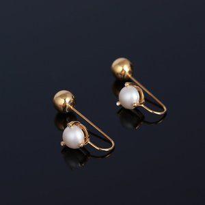 Kate Spade Gemstone Pearl Earrings